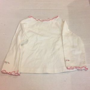 Embroidered Sleeve Baby Shirt